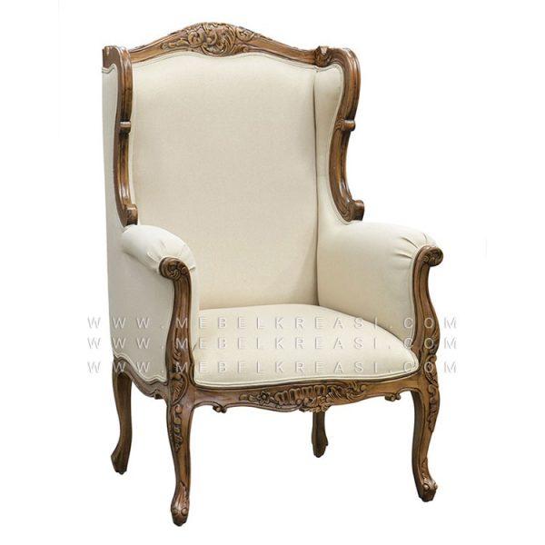 Jual Sofa Klasik Louis XV Whing Chair