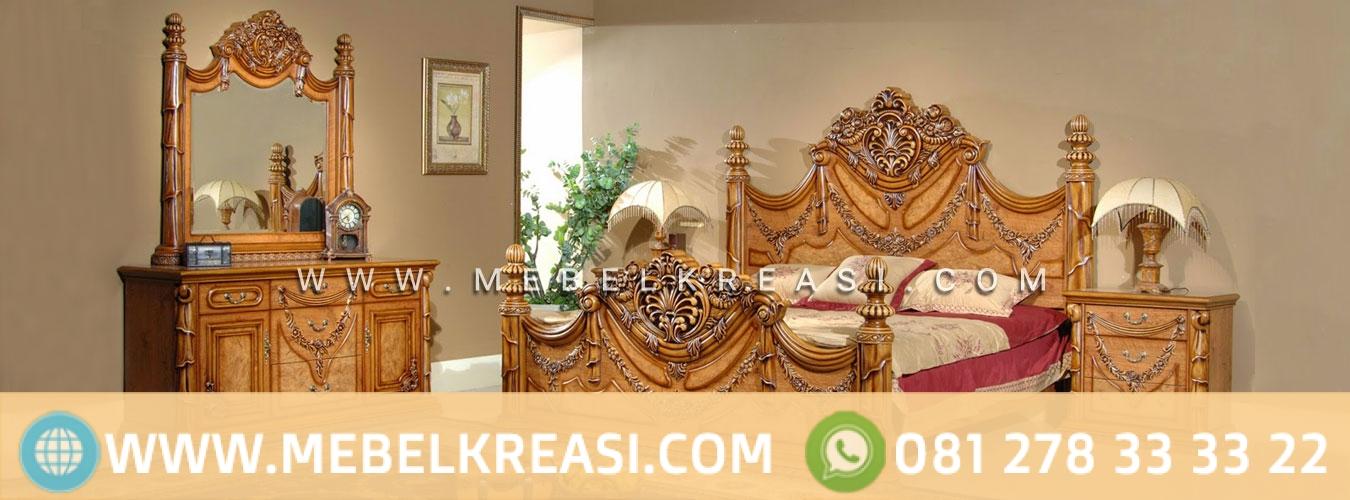 Furniture Jepara Desain Antik Ukiran Kayu Jati