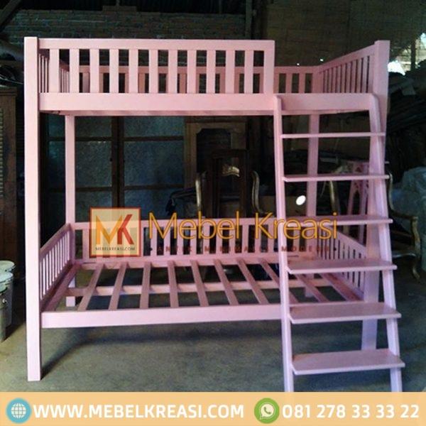 Harga Jual Ranjang Tingkat Anak Pink
