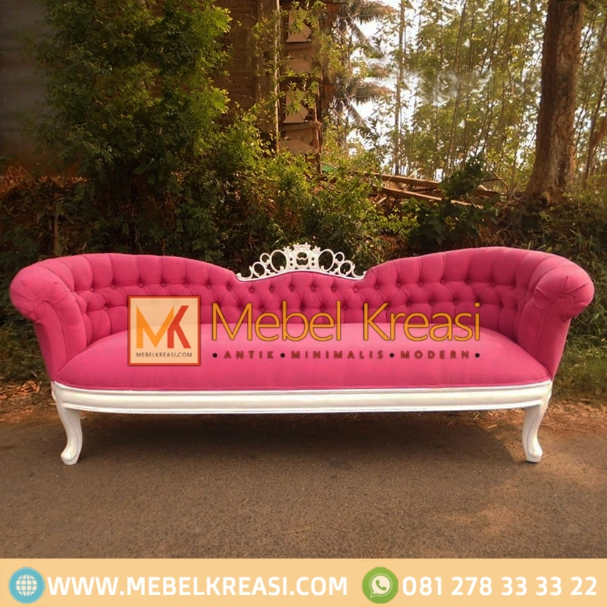 Harga Jual Sofa Single Putih Pink