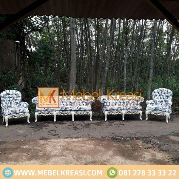 Harga Jual Sofa 1 Set Mewah Elegant