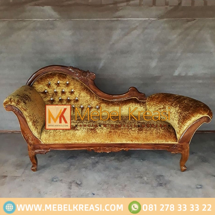 Harga Jual Sofa Single Louis Jati