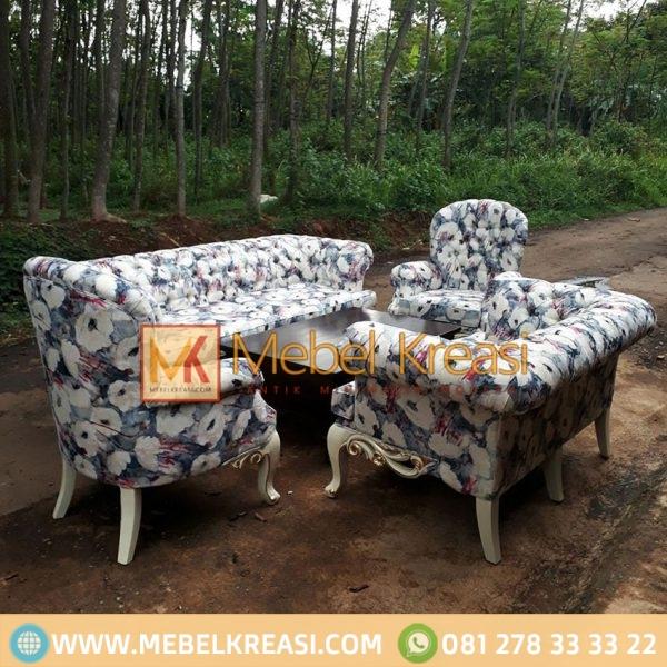 Harga Jual Sofa Tamu Mewah 1 Set