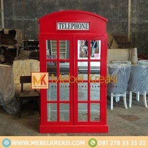 Harga Lemari Pakaian Telephone Vintage