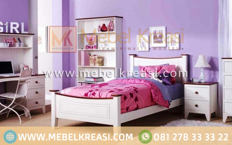 Set Kamar Tidur Anak Shabby Chic