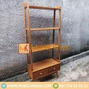 Harga Jual Lemari Pajangan Minimalis Vintage