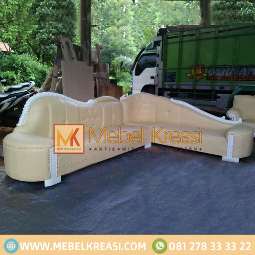 Harga Jual Sofa Sudut Upholstery Klasik