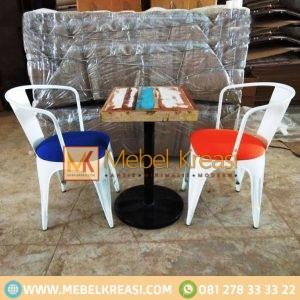 Harga Jual Kursi Meja Cafe Industrial Vintage