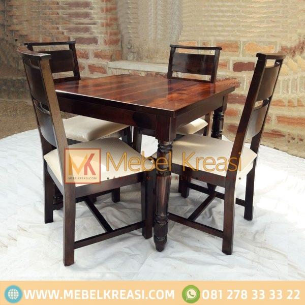 Harga Jual Kursi Meja Cafe Kayu Klasik